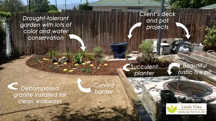 low maintenance garden created by Linda Vista Landscape